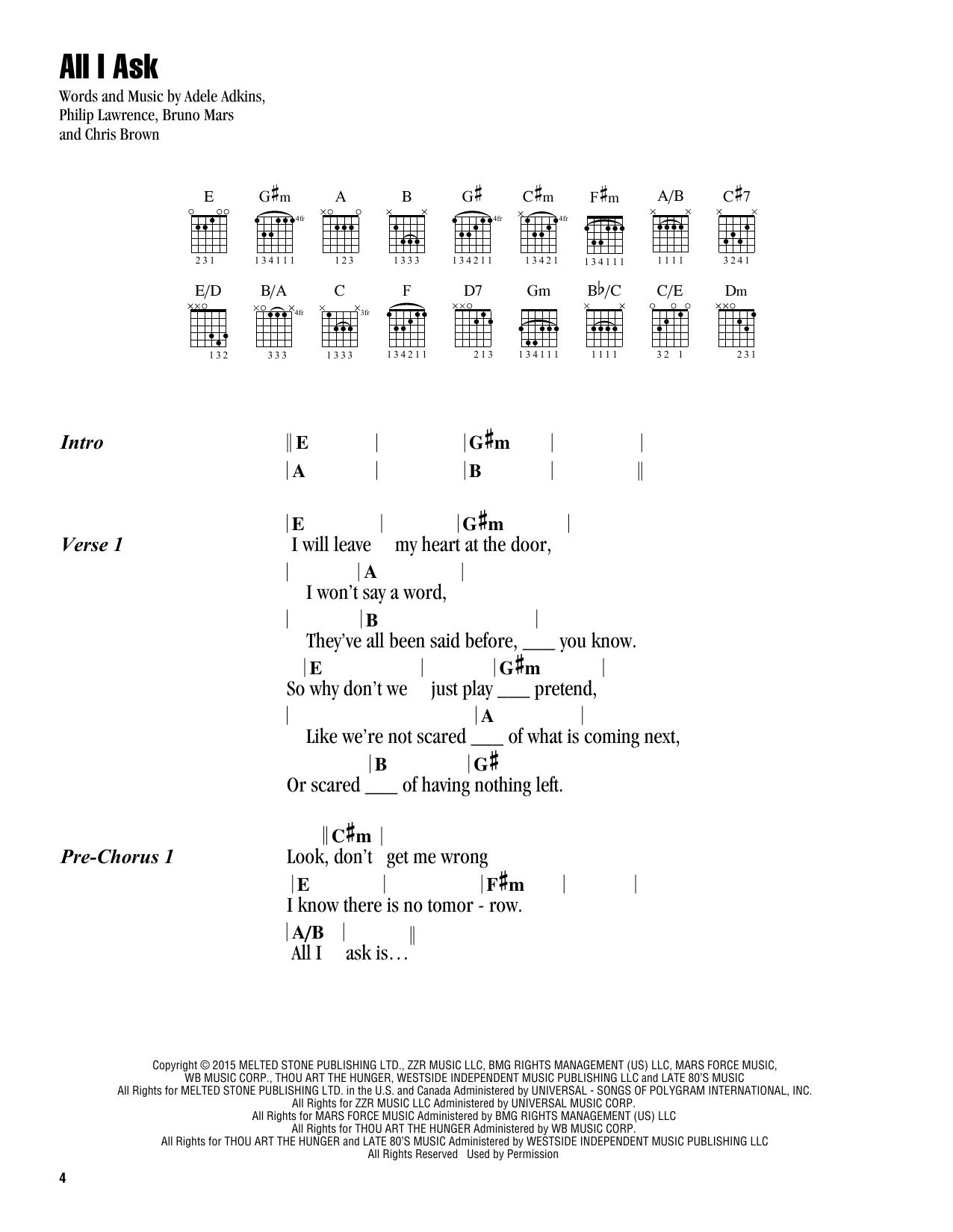 Sheet Music Digital Files To Print Licensed Guitar Chordslyrics