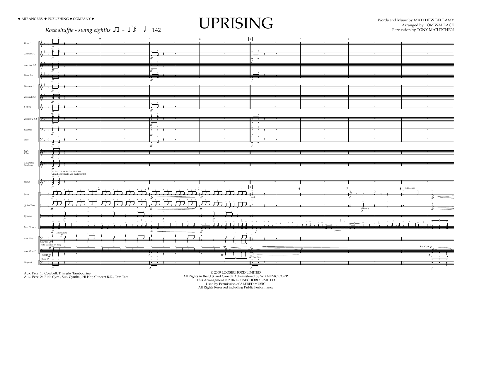 Muse - Uprising - Full Score