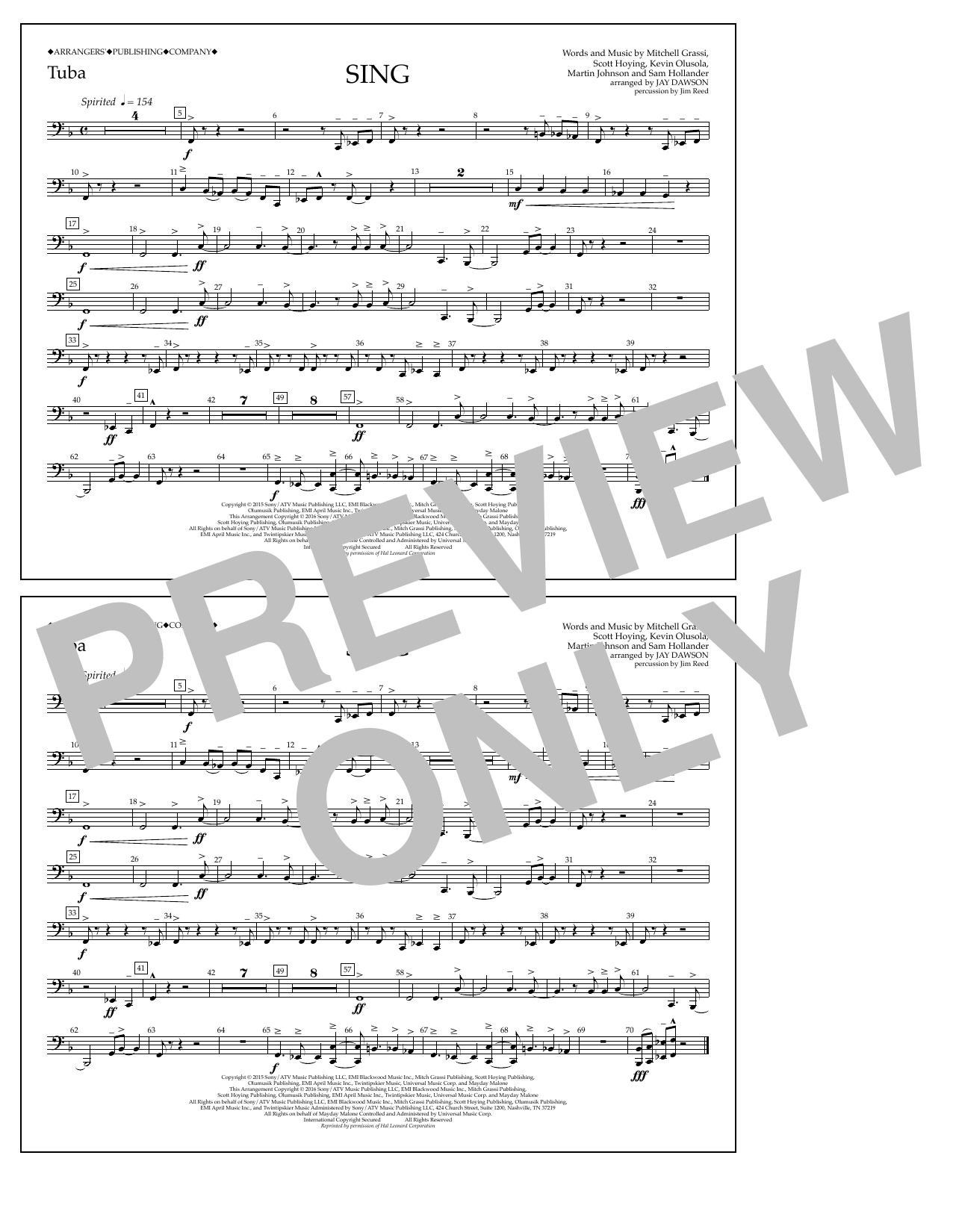 Pentatonix - Sing - Tuba