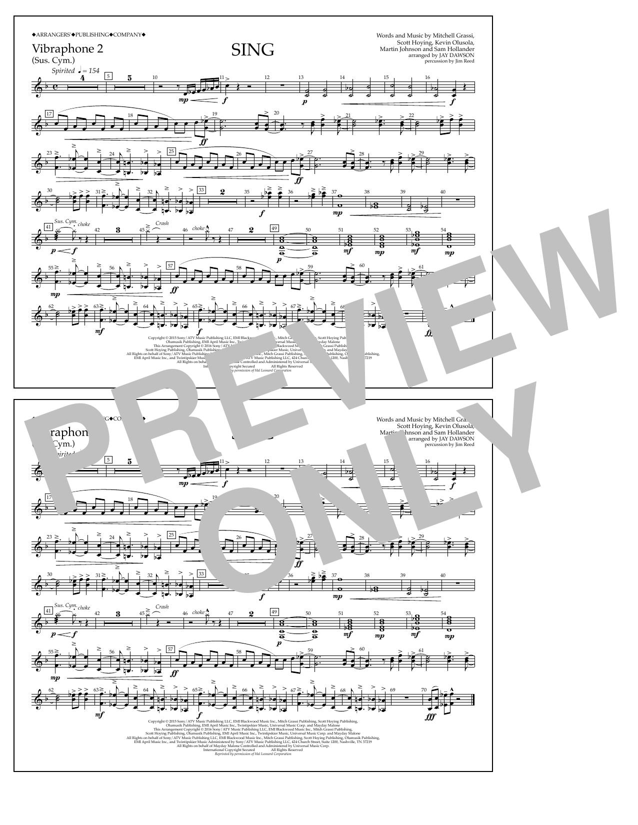 Pentatonix - Sing - Vibraphone 2
