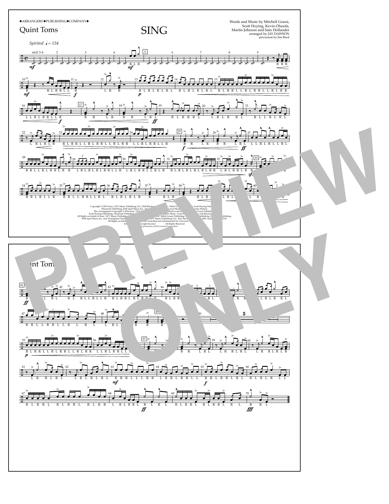 Pentatonix - Sing - Quint-Toms