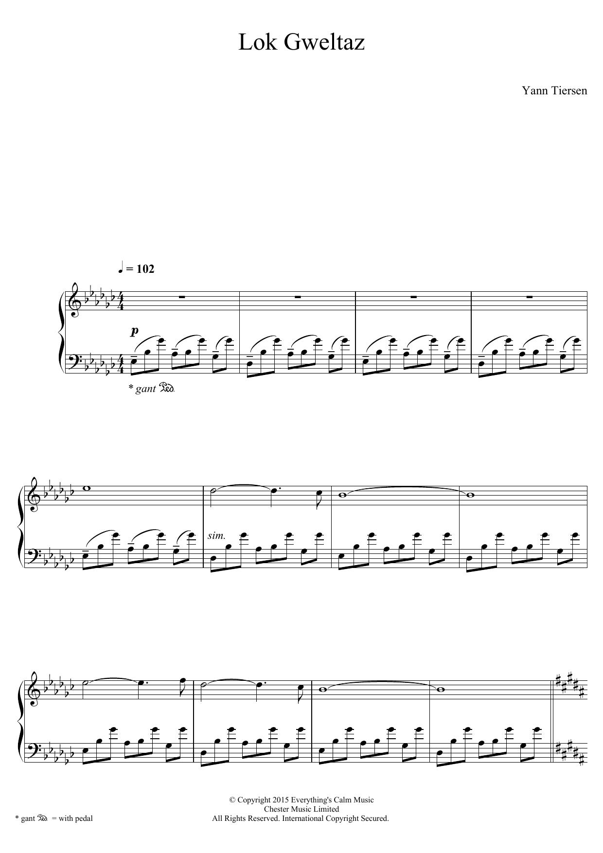 Yann Tiersen - Lok Gweltaz