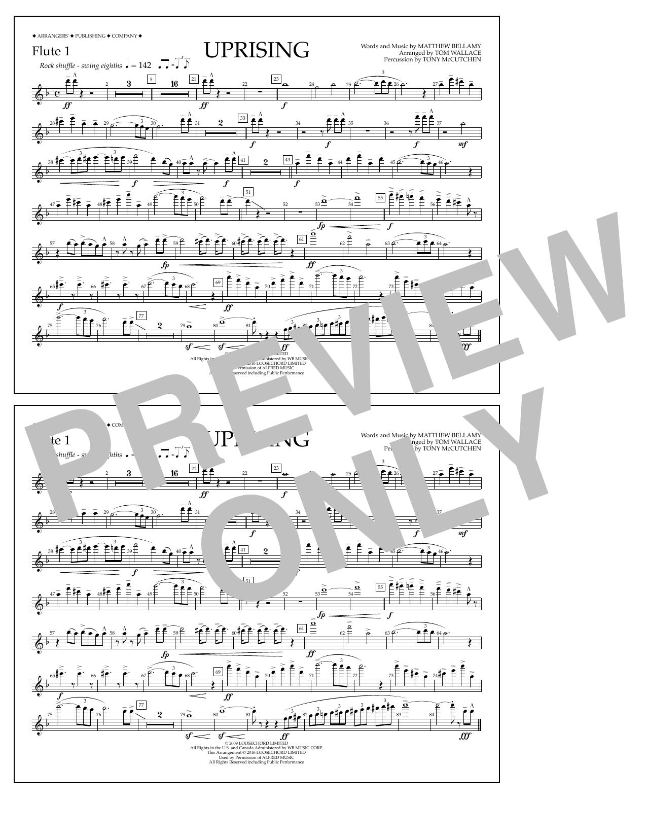 Muse - Uprising - Flute 1
