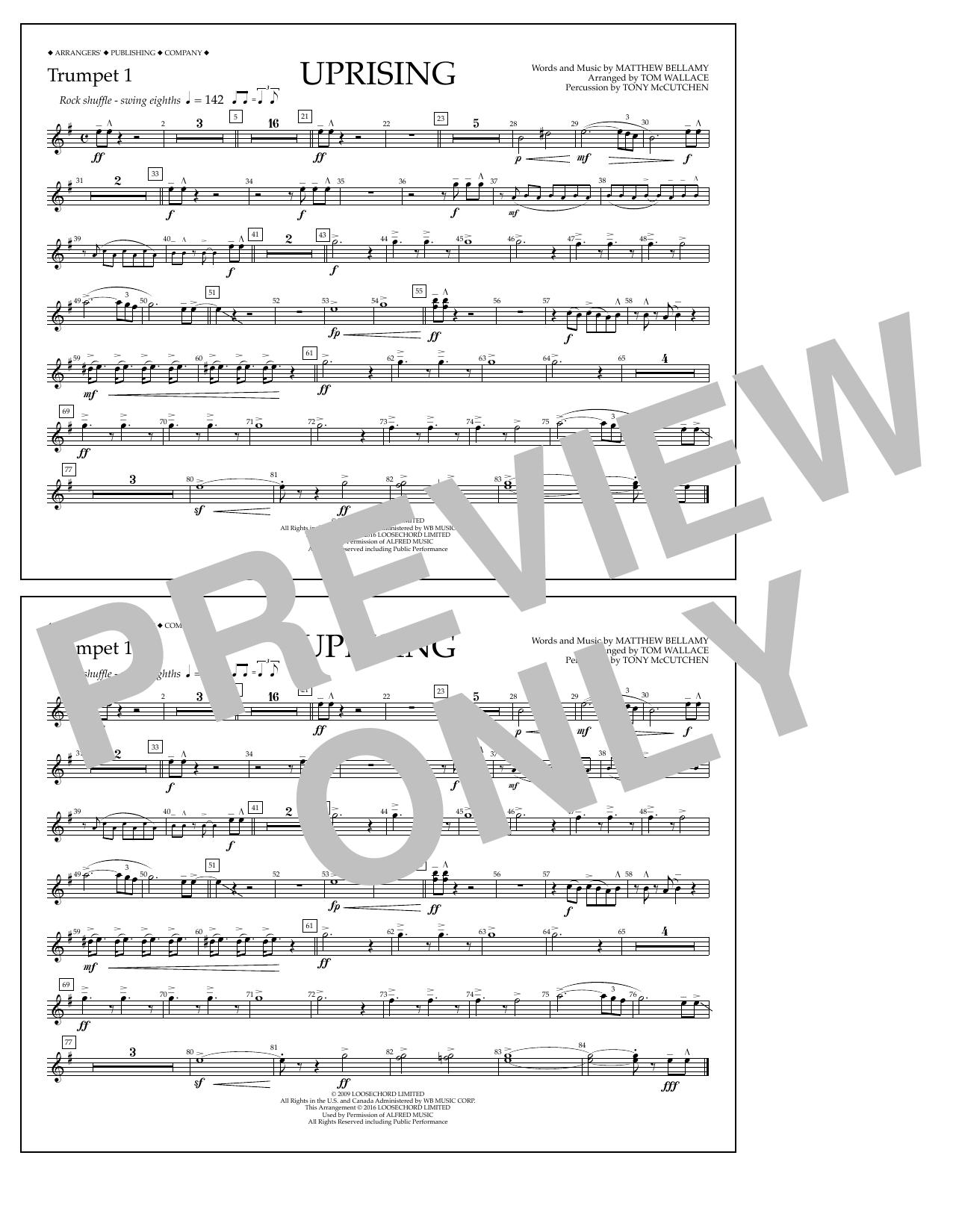 Muse - Uprising - Trumpet 1