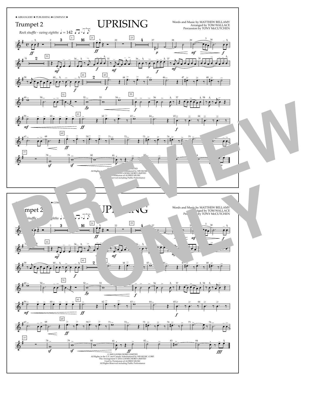 Muse - Uprising - Trumpet 2
