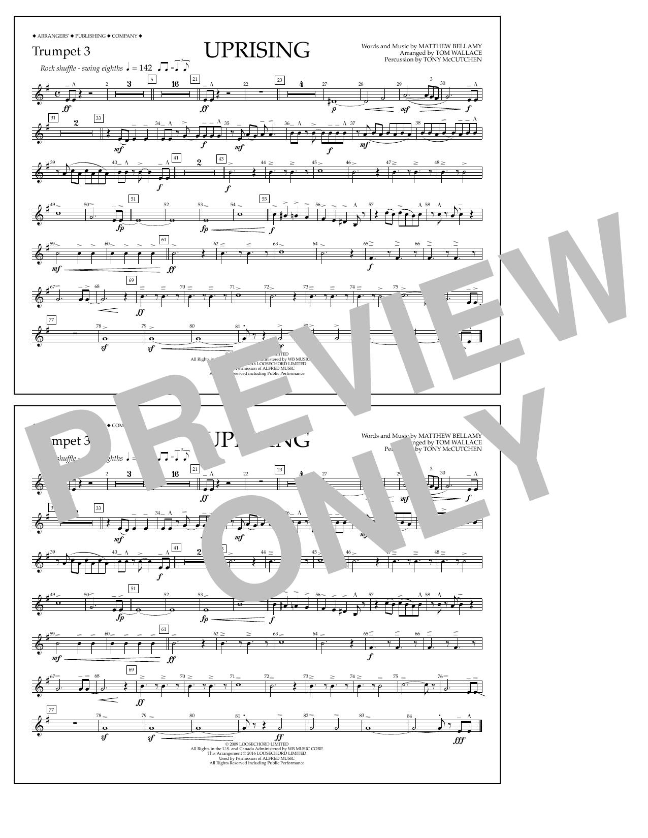 Muse - Uprising - Trumpet 3
