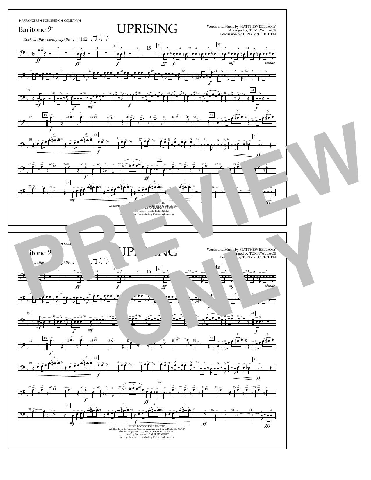 Muse - Uprising - Baritone B.C.
