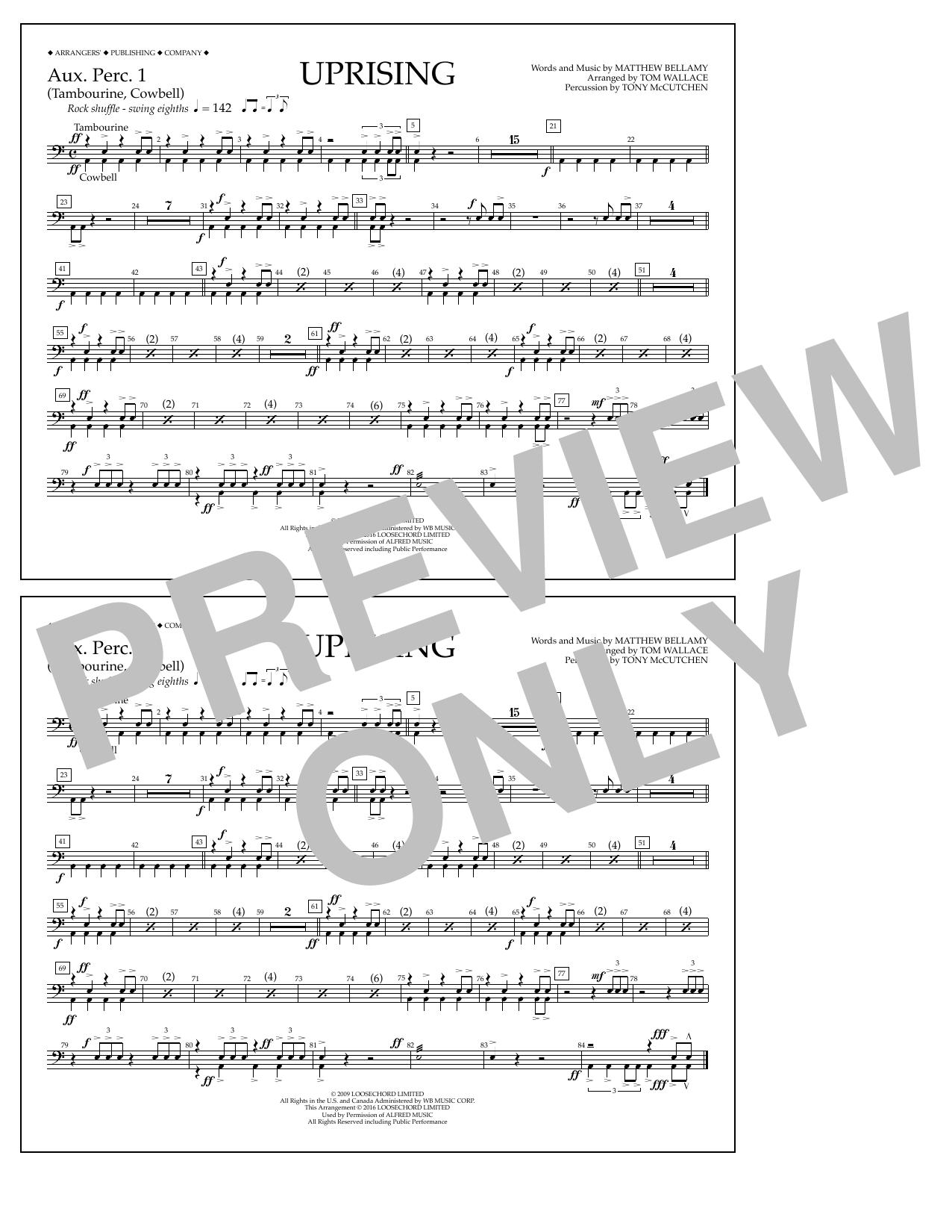 Muse - Uprising - Aux. Perc. 1