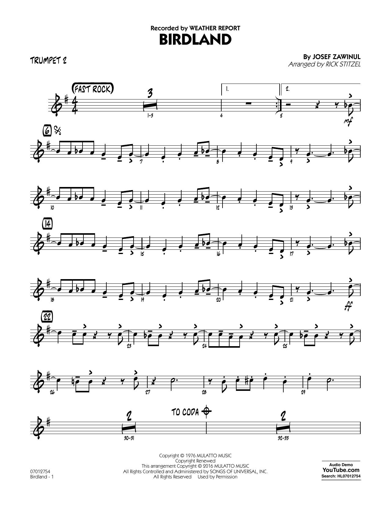 Manhattan Transfer - Birdland - Trumpet 2