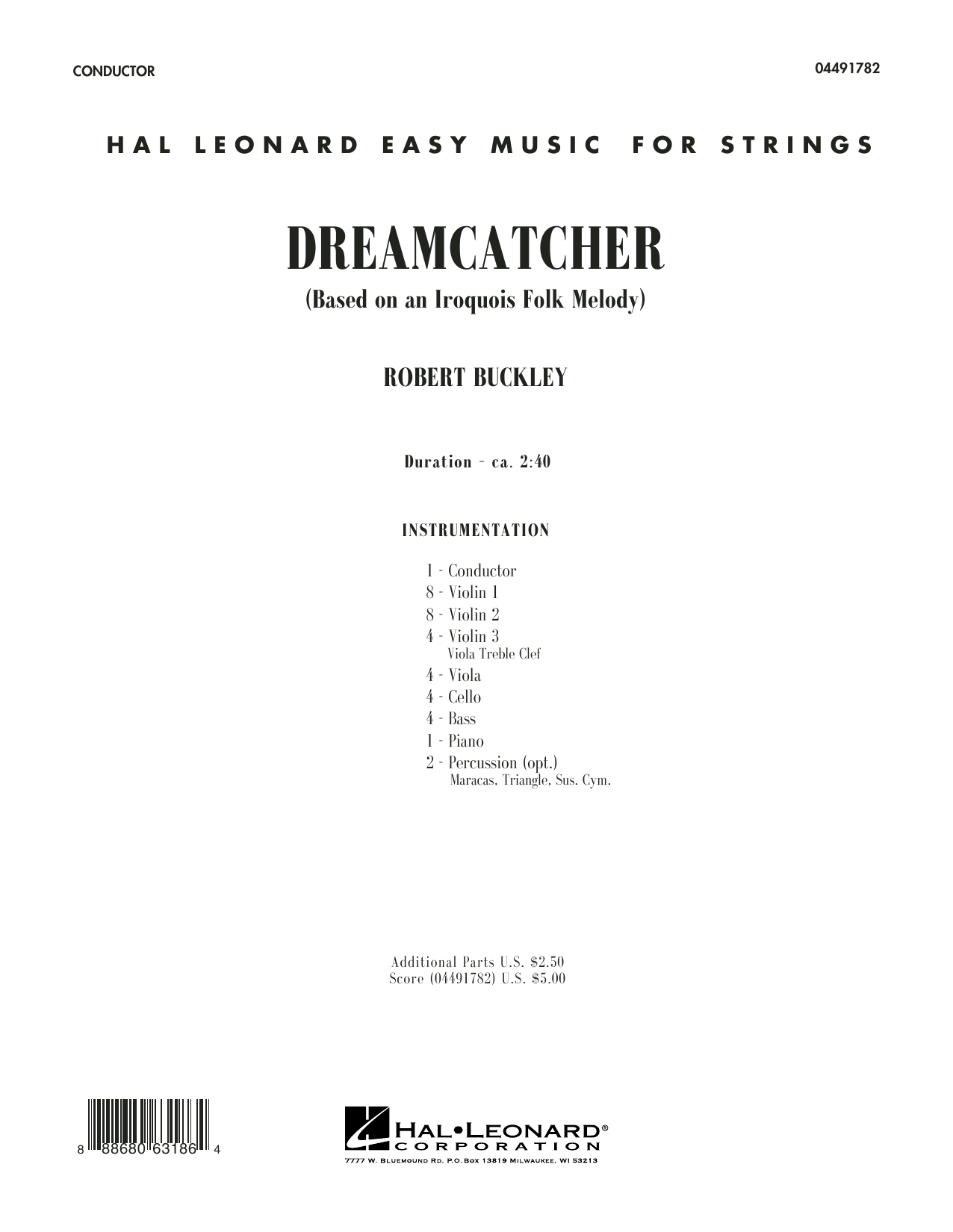 Dreamcatcher (COMPLETE) sheet music for orchestra by Robert Buckley