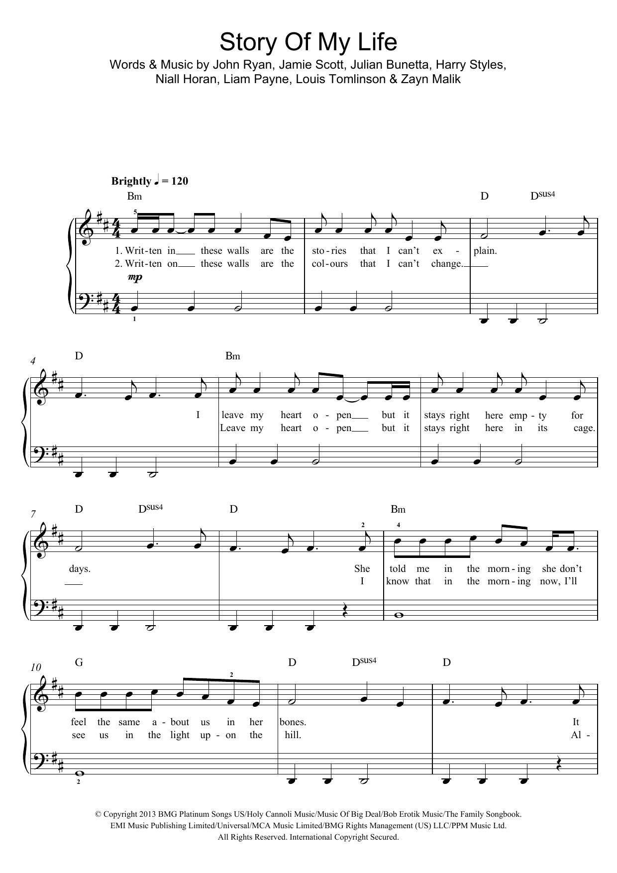 Sheet music digital files to print licensed one direction sheet music digital files to print licensed one direction digital sheet music hexwebz Images