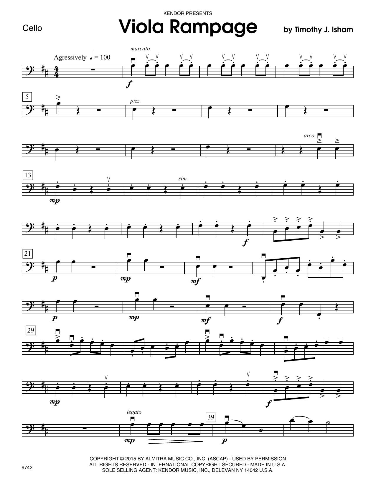 Viola Rampage - Cello