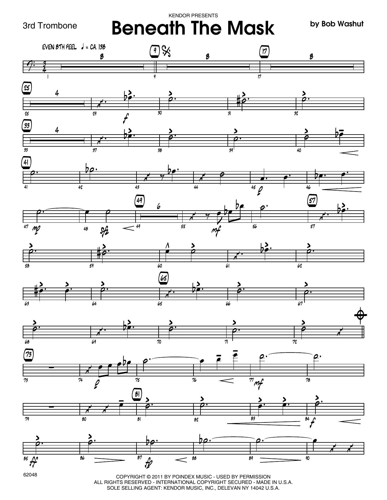 Beneath The Mask - 3rd Trombone