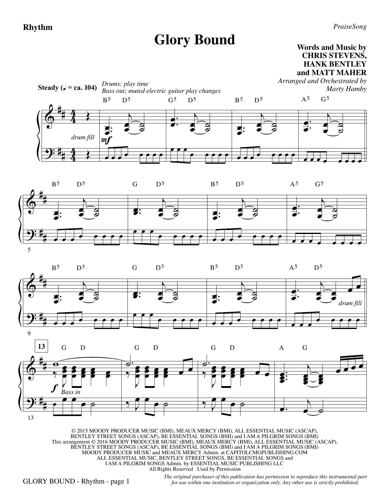 Glory Bound - Rhythm