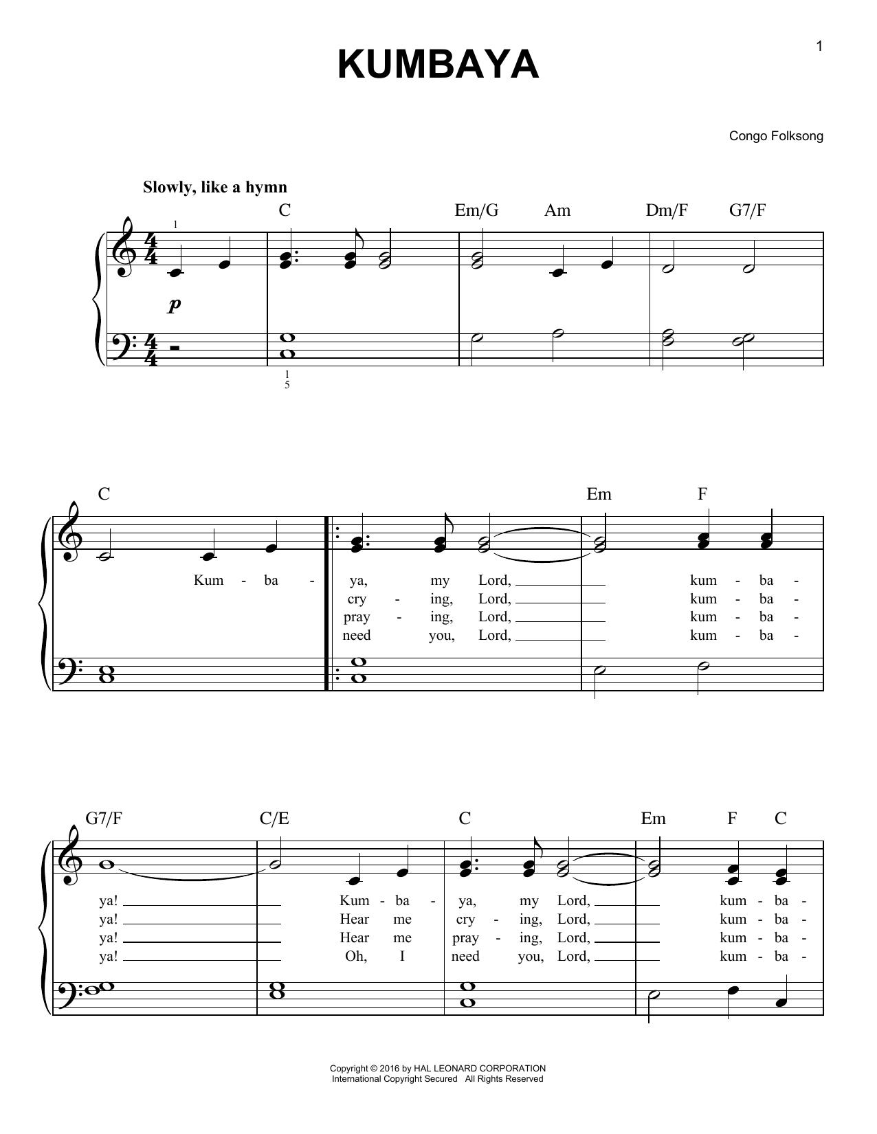 Congan Folksong - Kumbaya