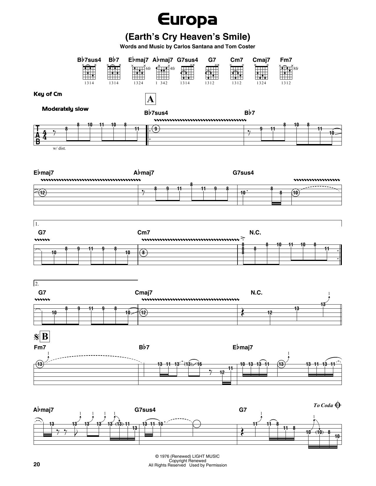 Santana - Europa