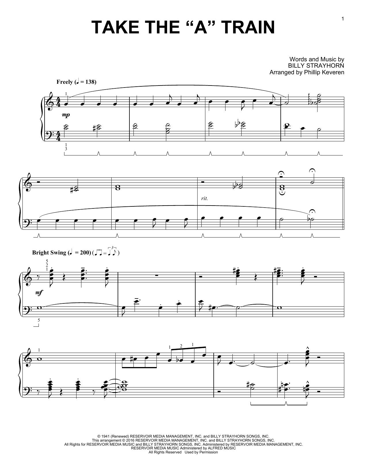 "Billy Strayhorn - Take The ""A"" Train"