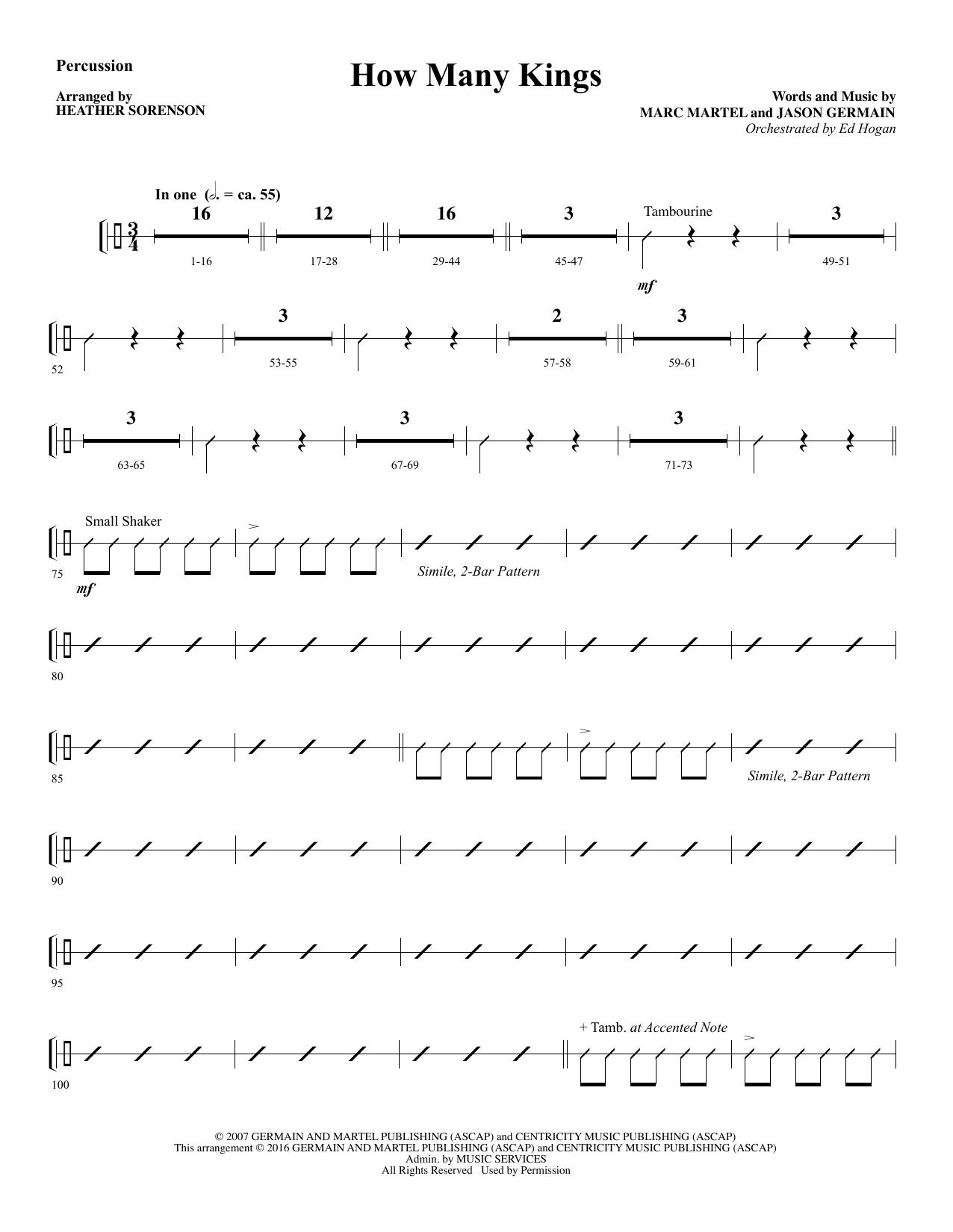 Jason Germain - How Many Kings - Percussion
