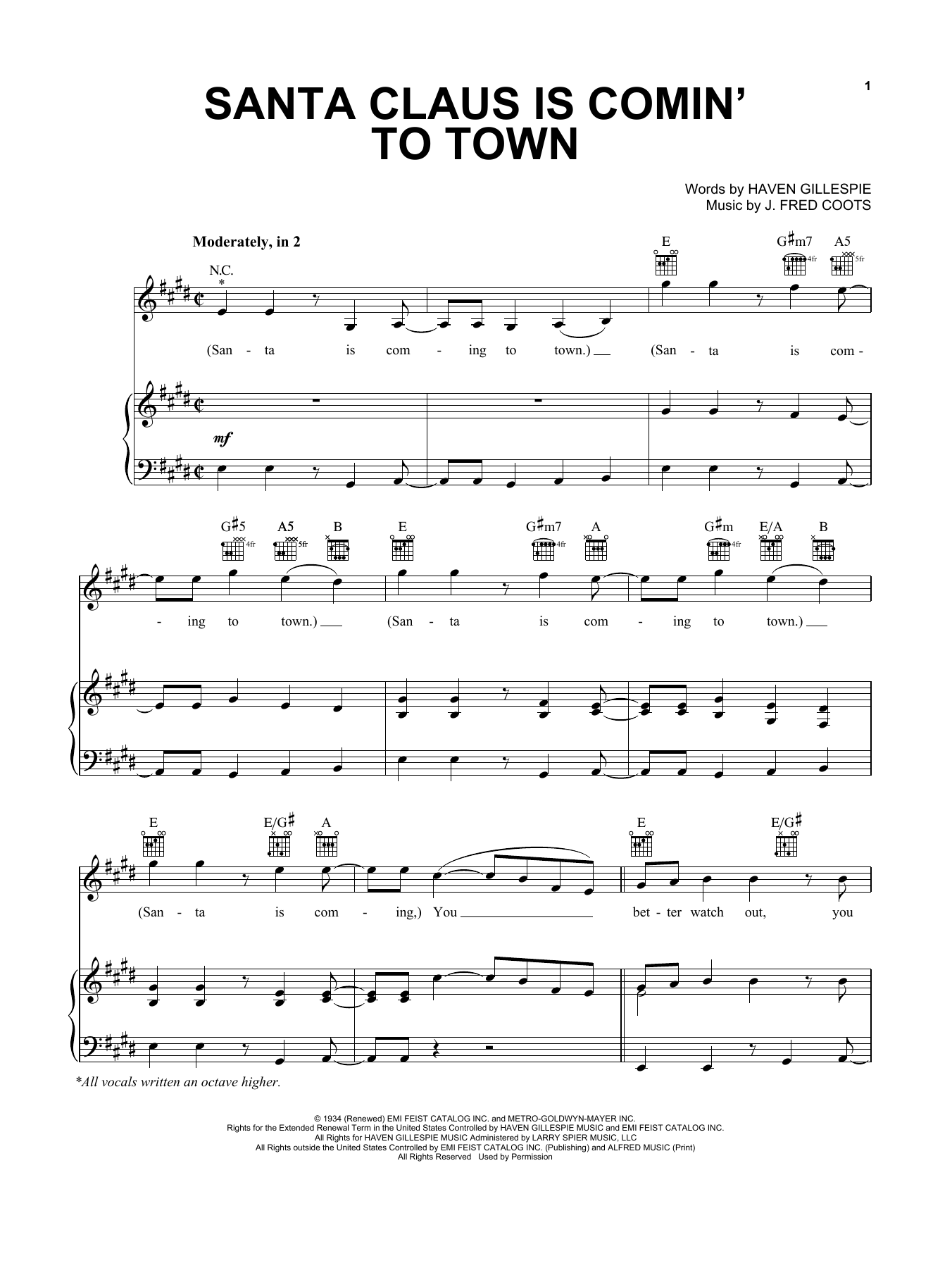 Sheet Music Digital Files To Print Licensed Steve Tyrell Digital
