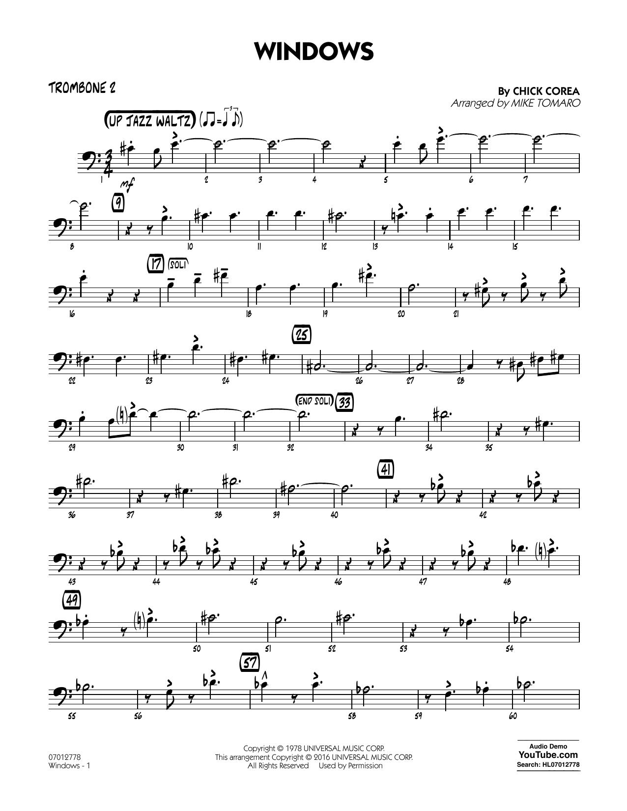 Chick Corea Elektric Band - Windows - Trombone 2