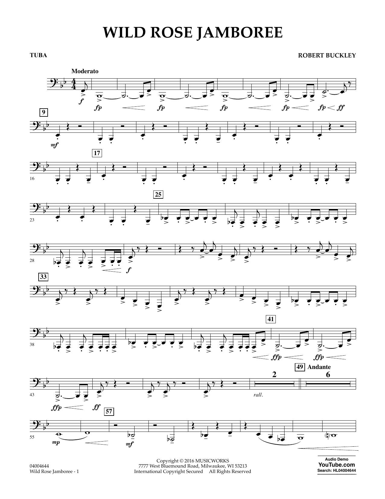 Wild Rose Jamboree - Tuba
