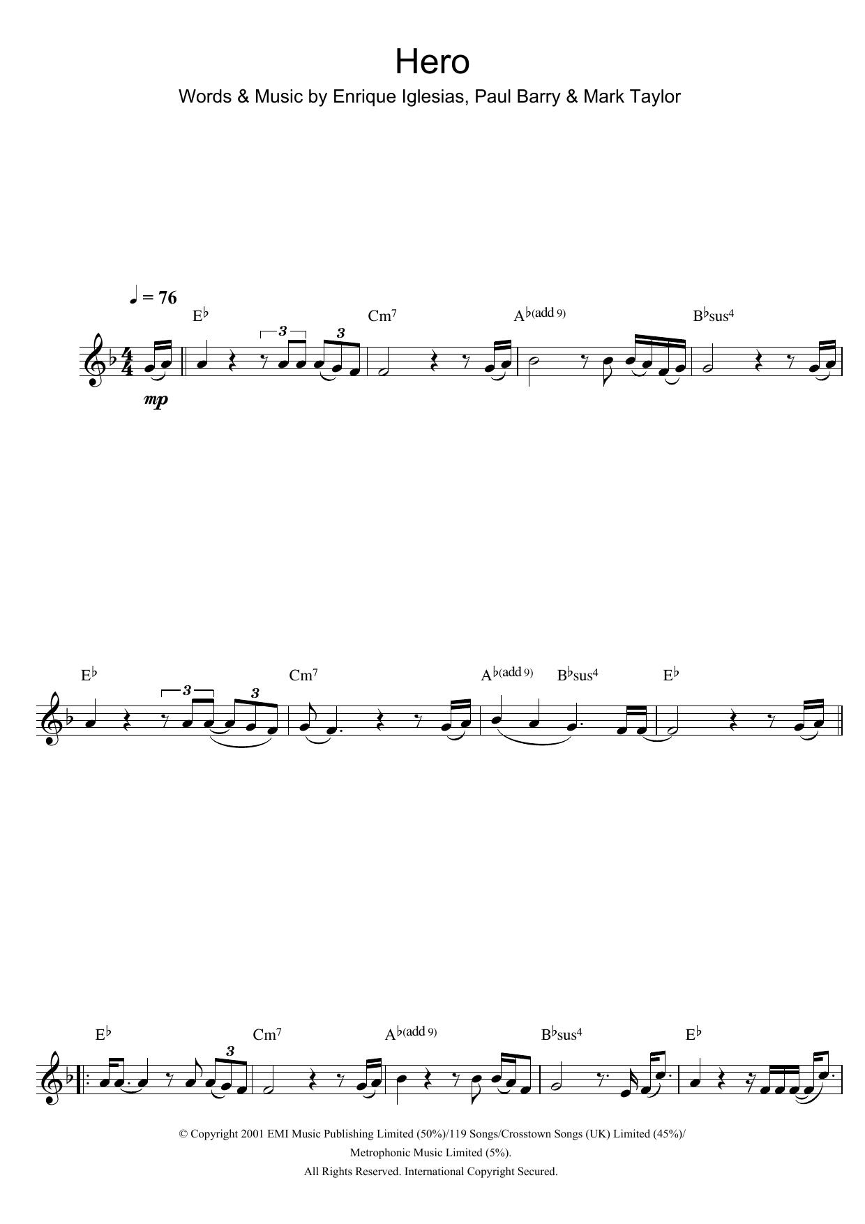 Sheet Music Digital Files To Print Licensed Enrique Iglesias