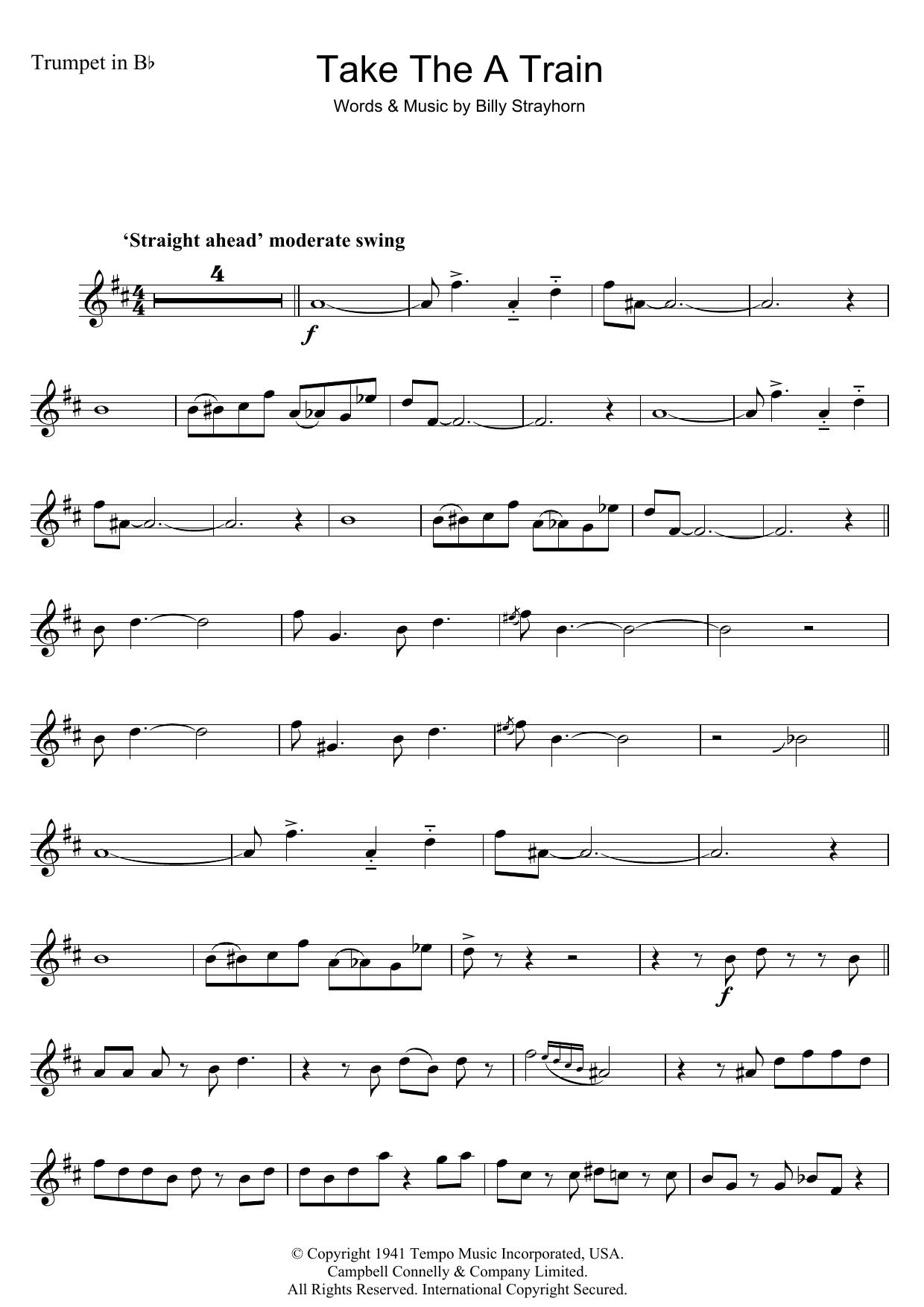Duke Ellington - Take The 'A' Train