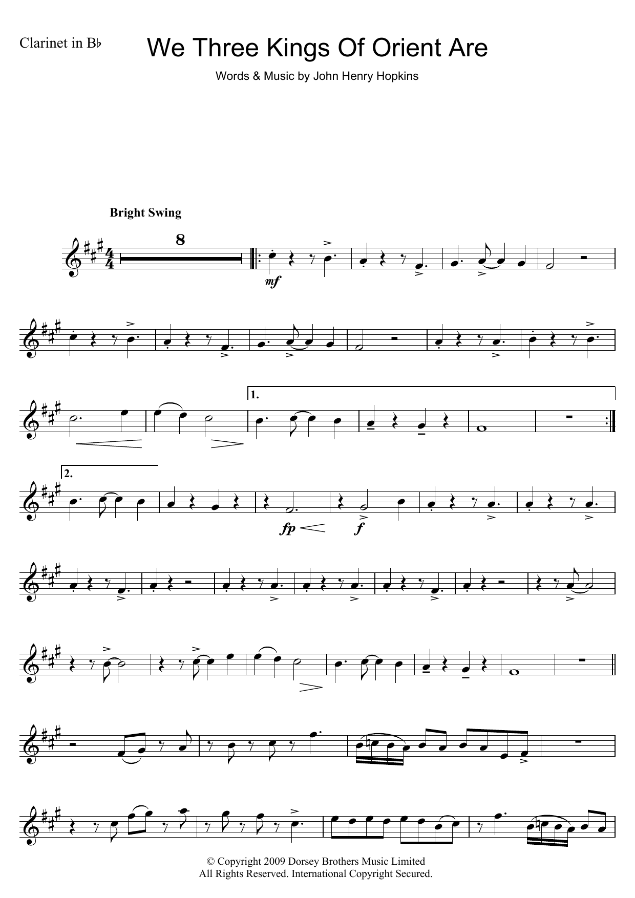 Traditional carol we three kings of orient are sheet music at traditional carol we three kings of orient are hexwebz Gallery