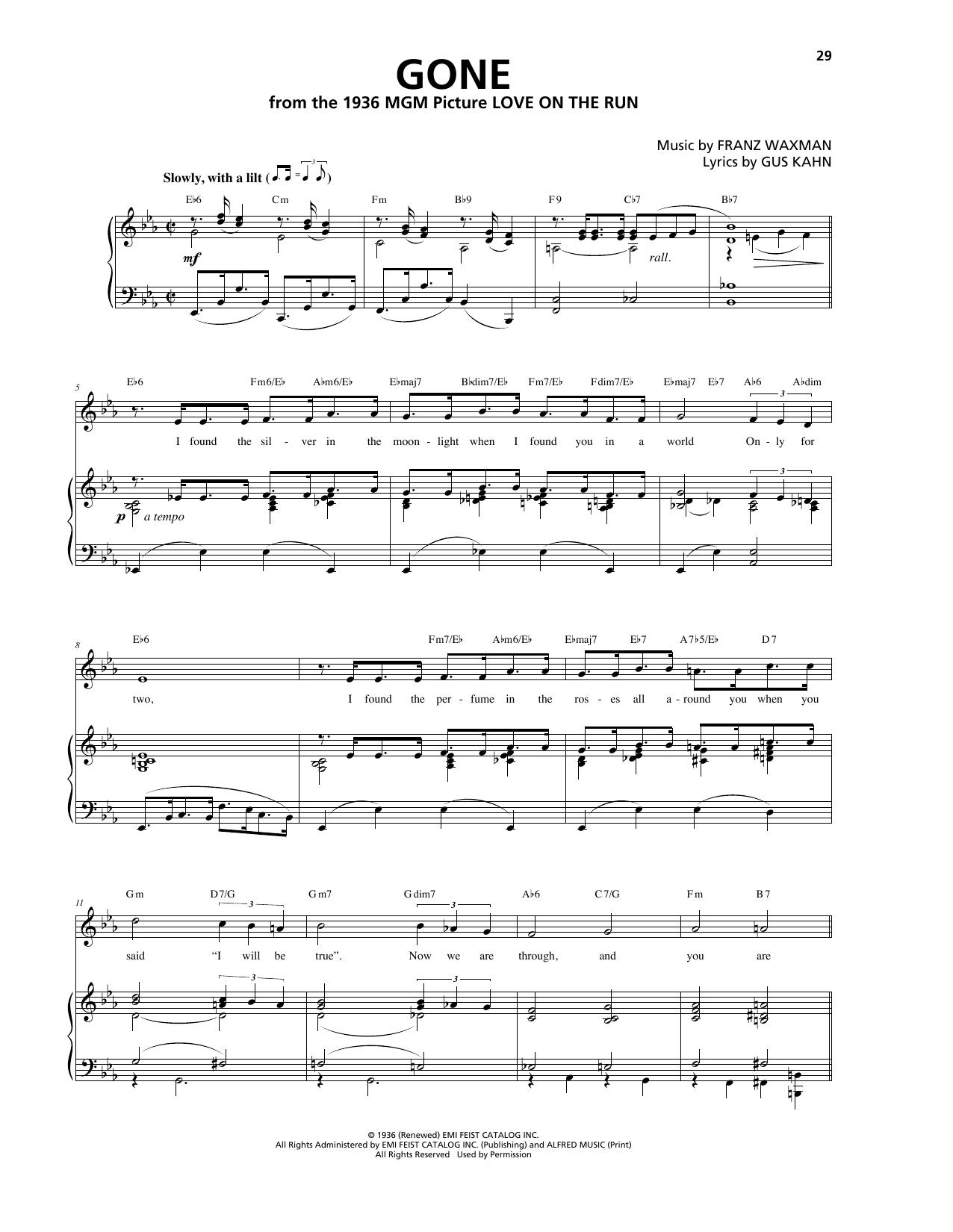 Franz Waxman - Gone