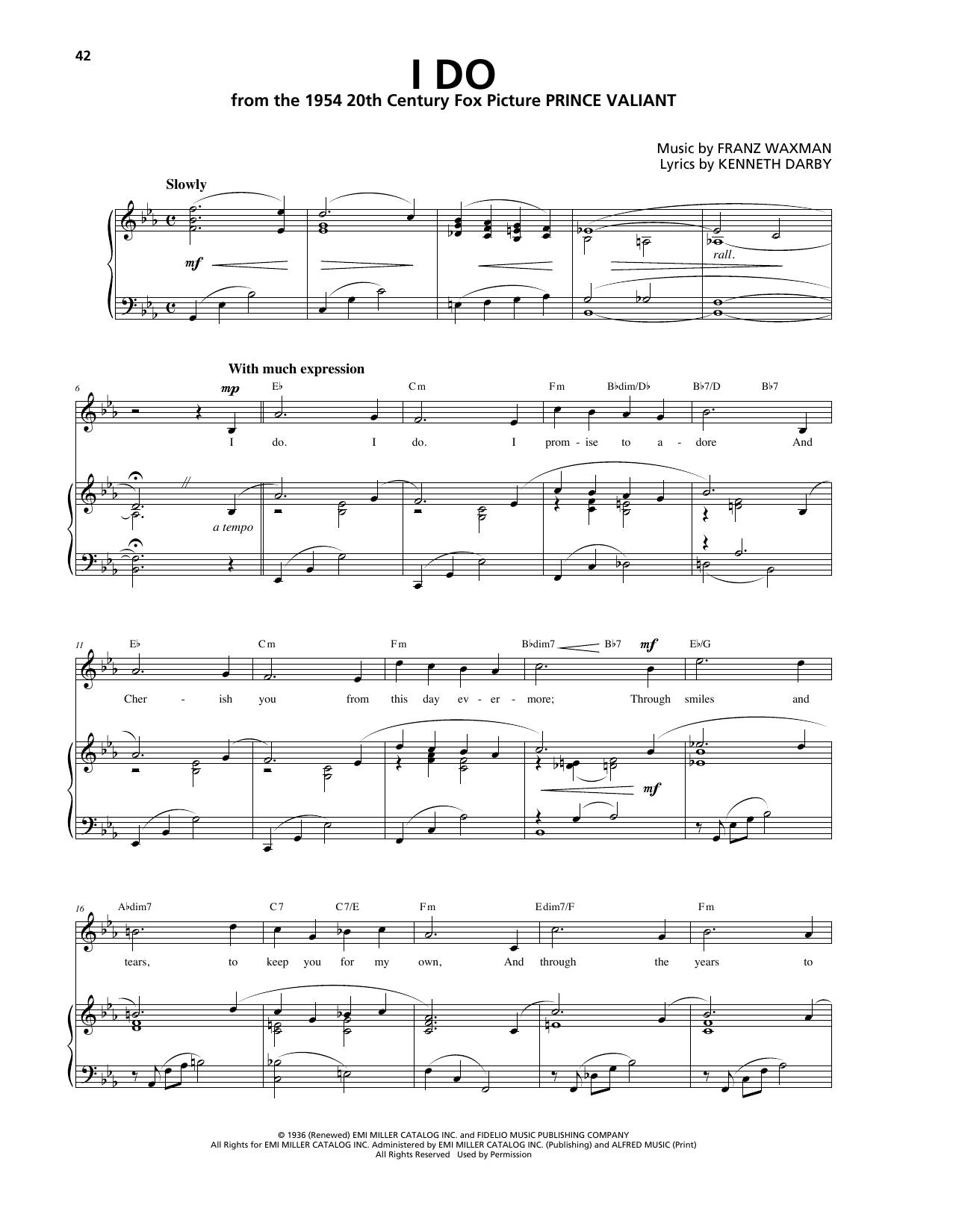 Franz Waxman - I Do