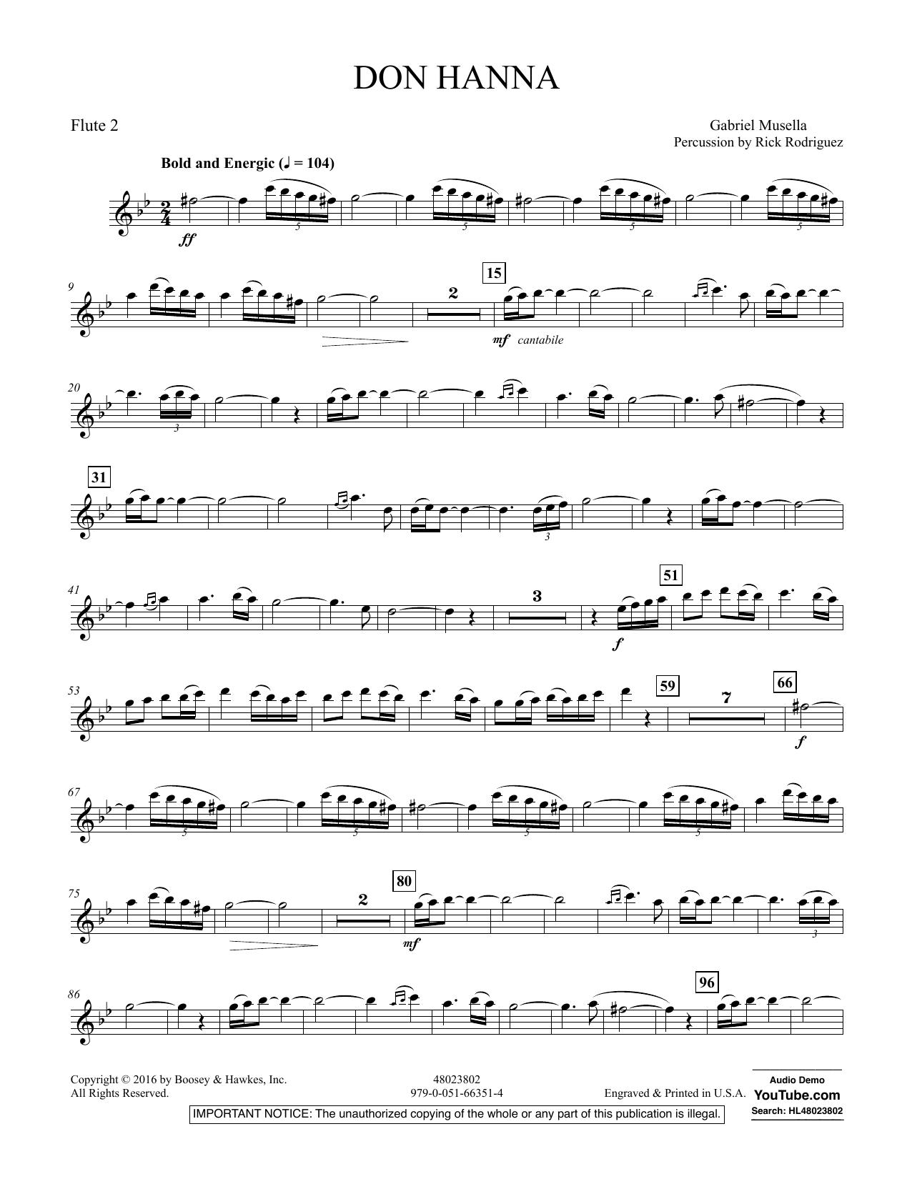 Don Hanna - Flute 2