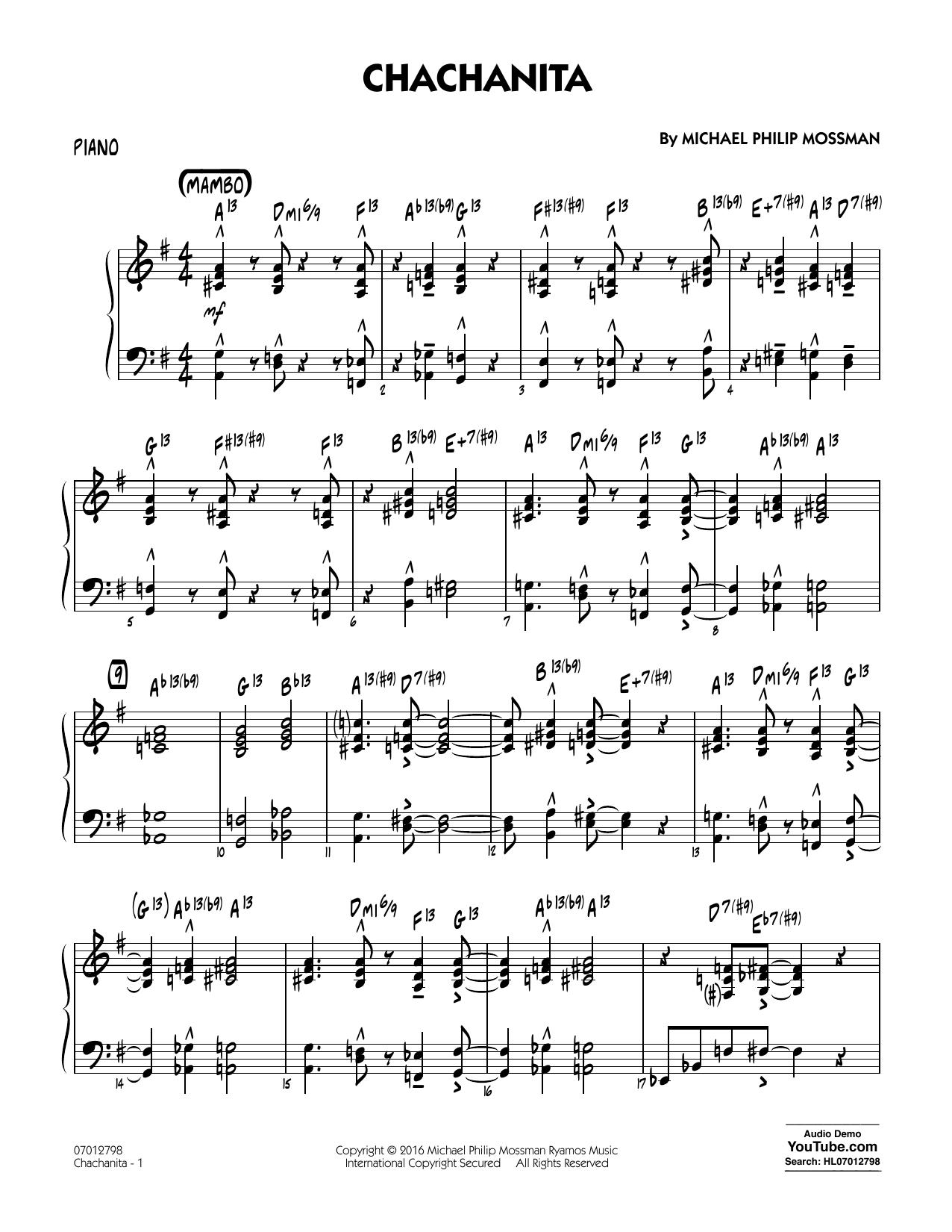 Chachanita - Piano
