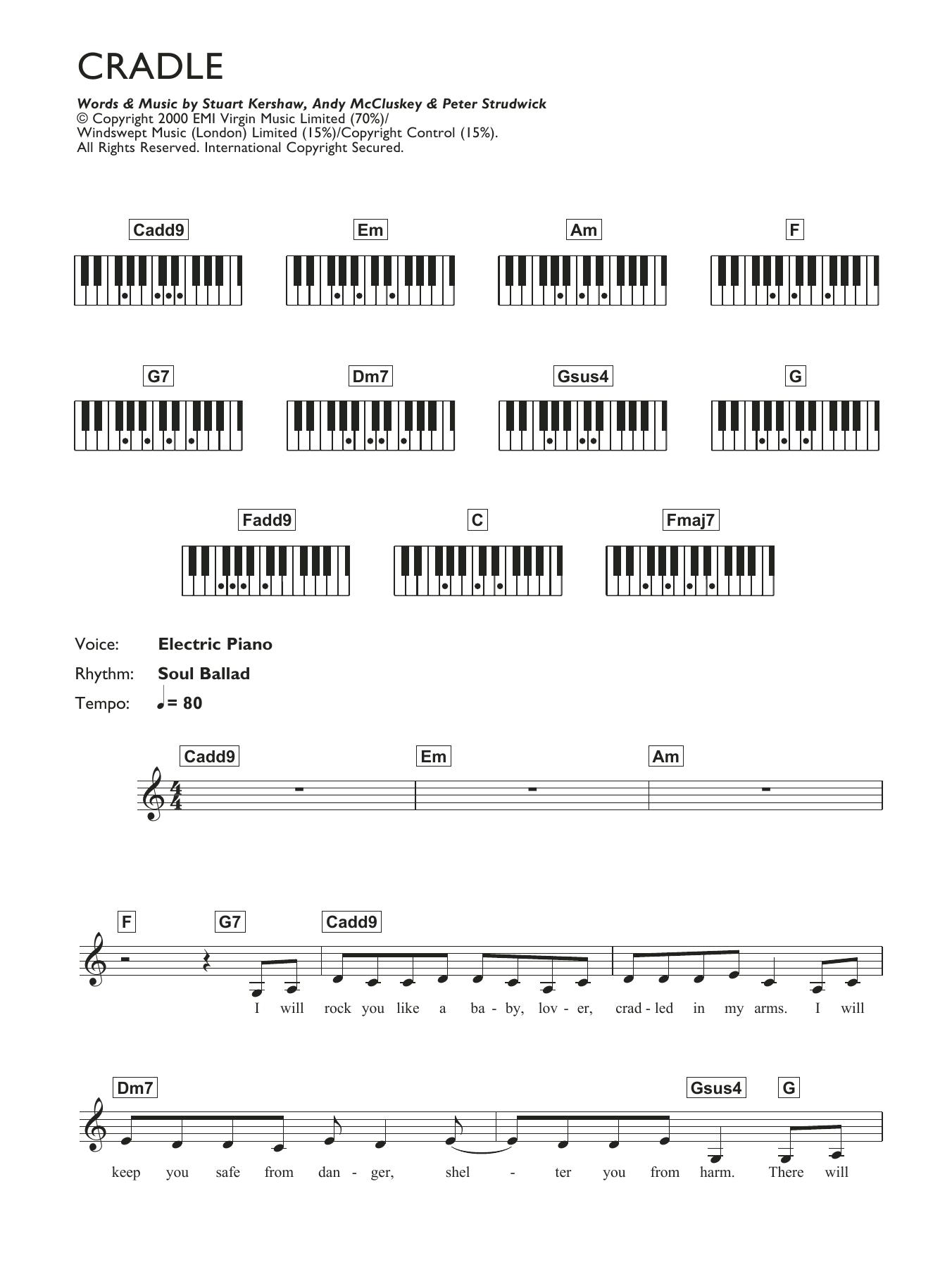 Piano chord atomic kitten sheet music at stantons sheet music atomic kitten hexwebz Images