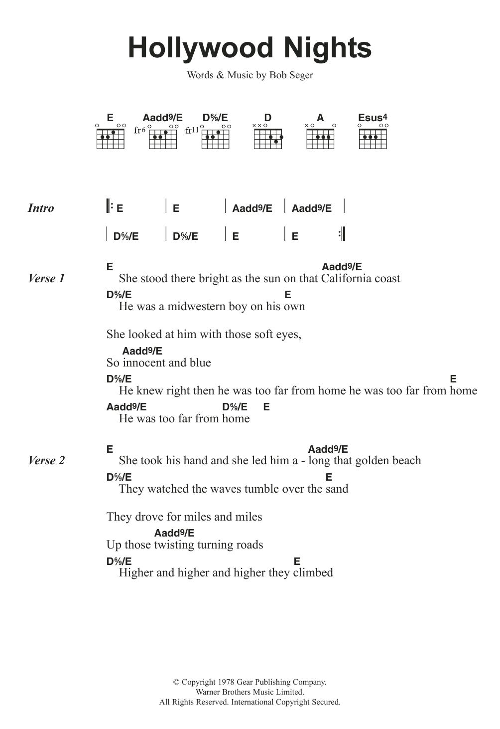 Sheet music digital files to print licensed guitar chordslyrics sheet music digital by merriam music hexwebz Gallery