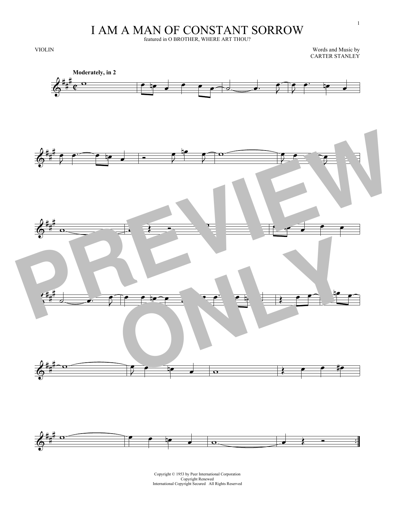 Sheet Music Digital Files To Print Licensed Carter Stanley Digital