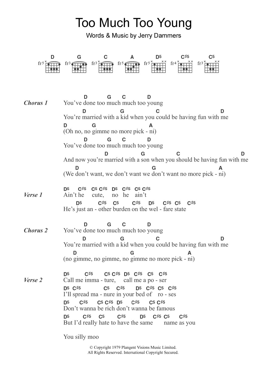 Sheet Music Digital Files To Print Licensed The Specials Digital