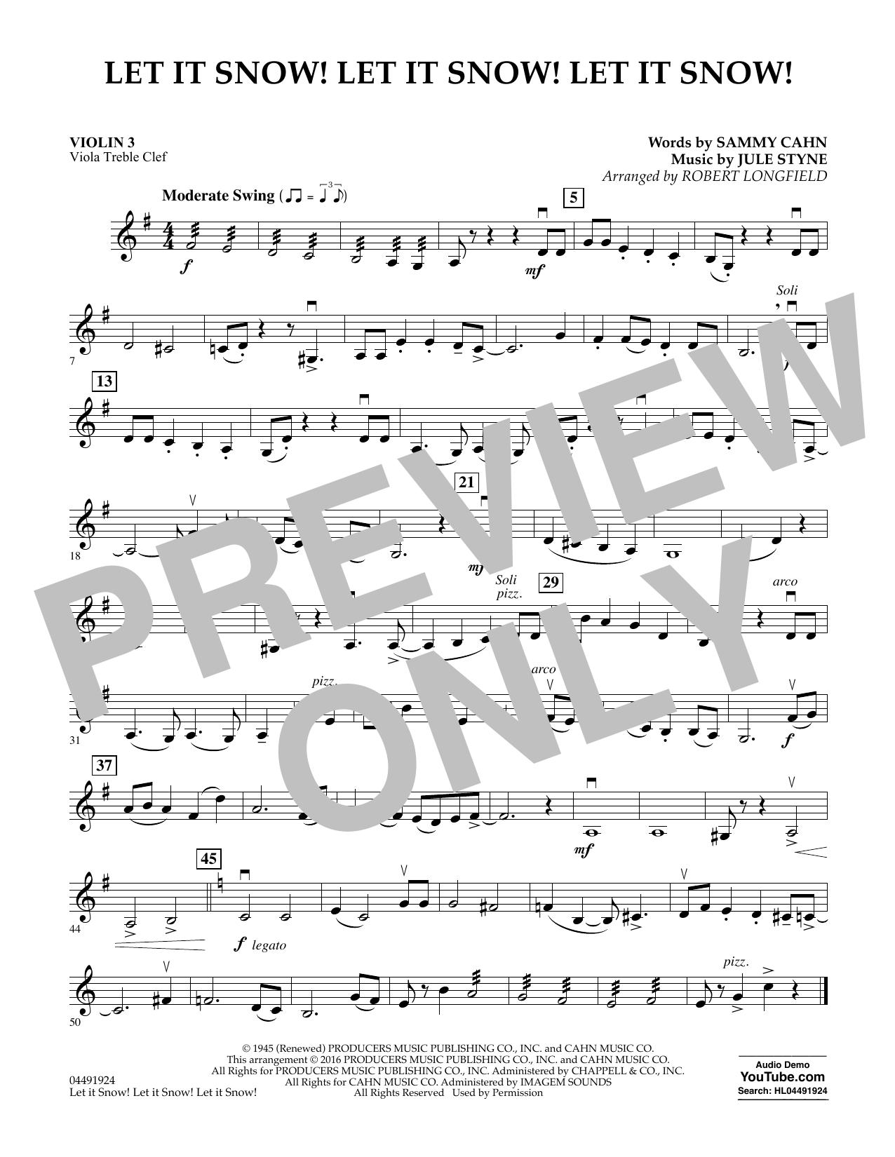 Joe Nichols - Let It Snow! Let It Snow! Let It Snow! - Violin 3 (Viola T.C.)