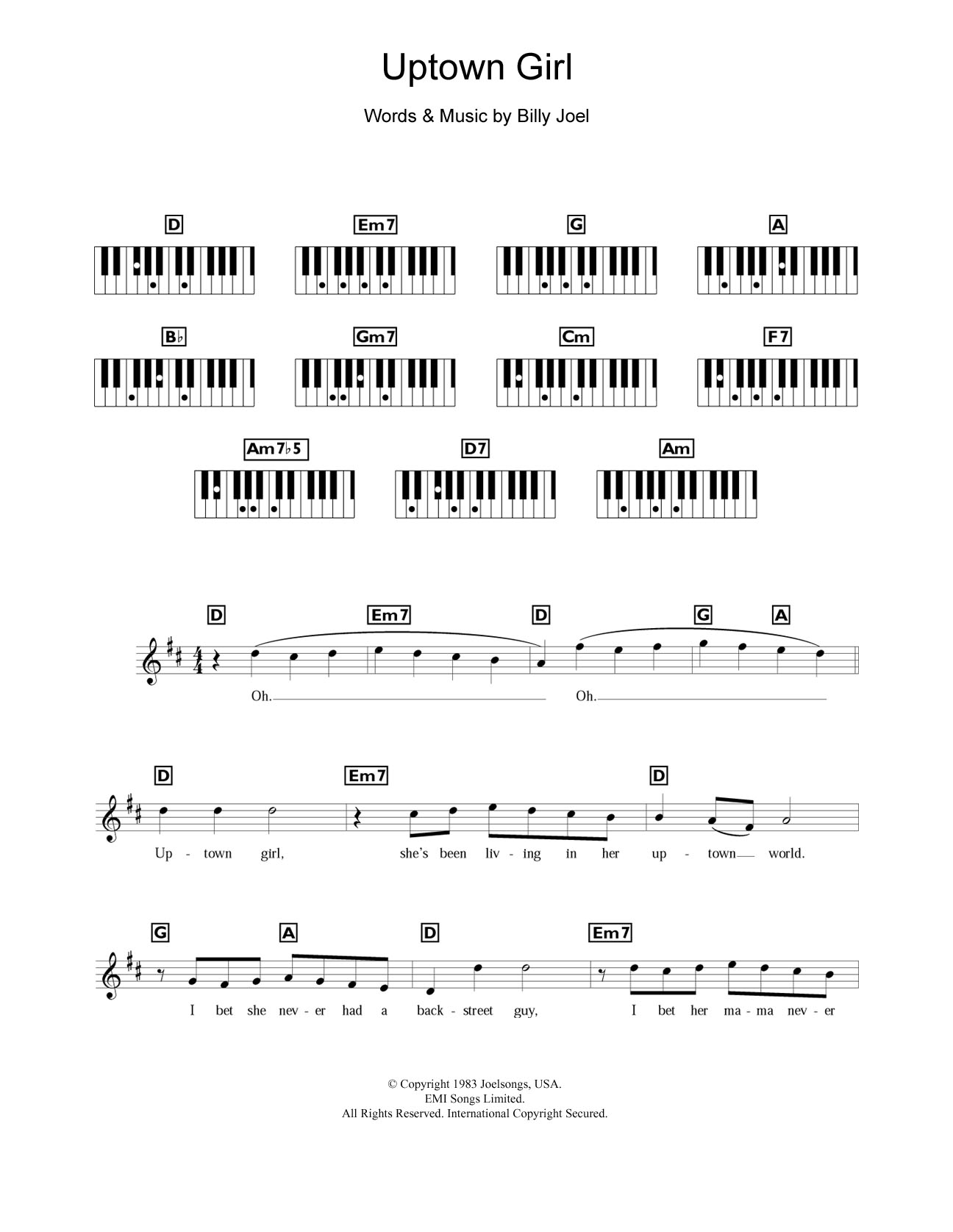 Piano chord sheet music at stantons sheet music westlife hexwebz Images