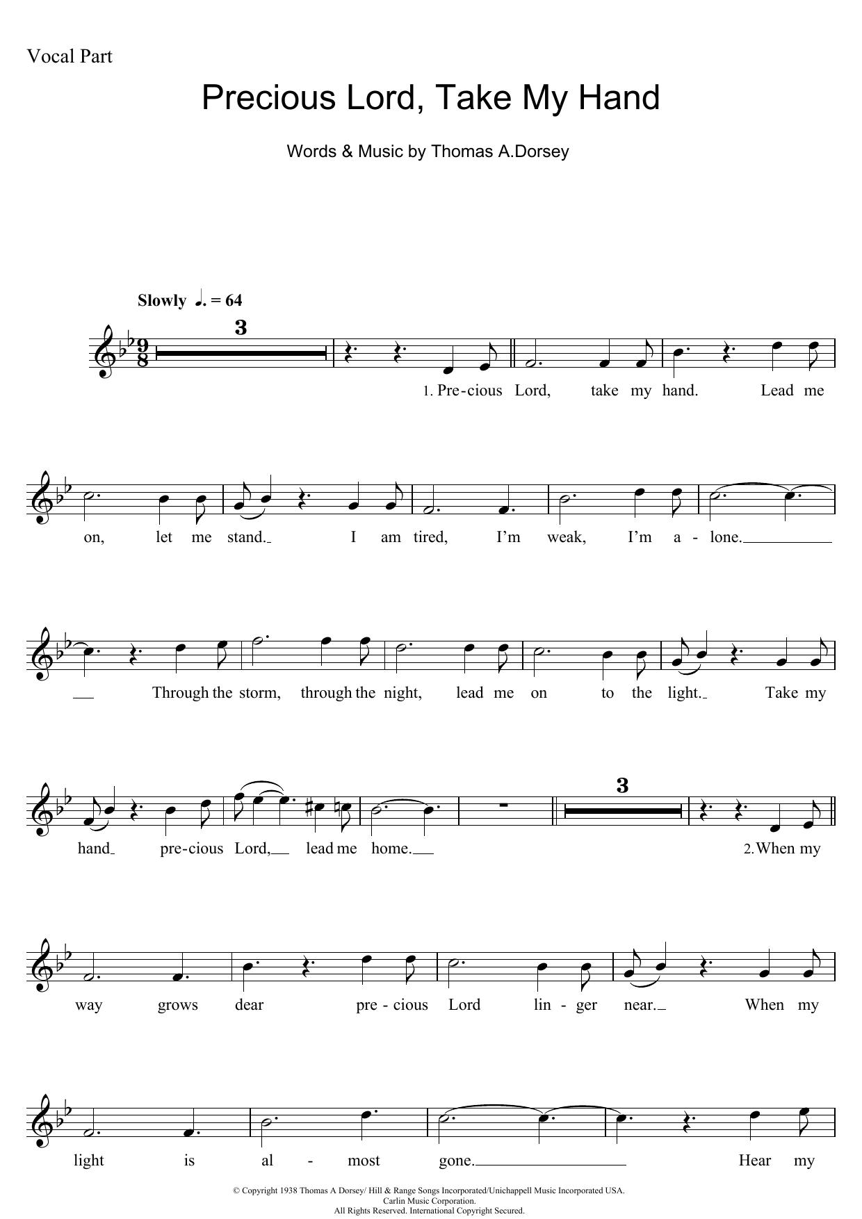 Aretha Franklin - Precious Lord, Take My Hand (Take My Hand, Precious Lord)