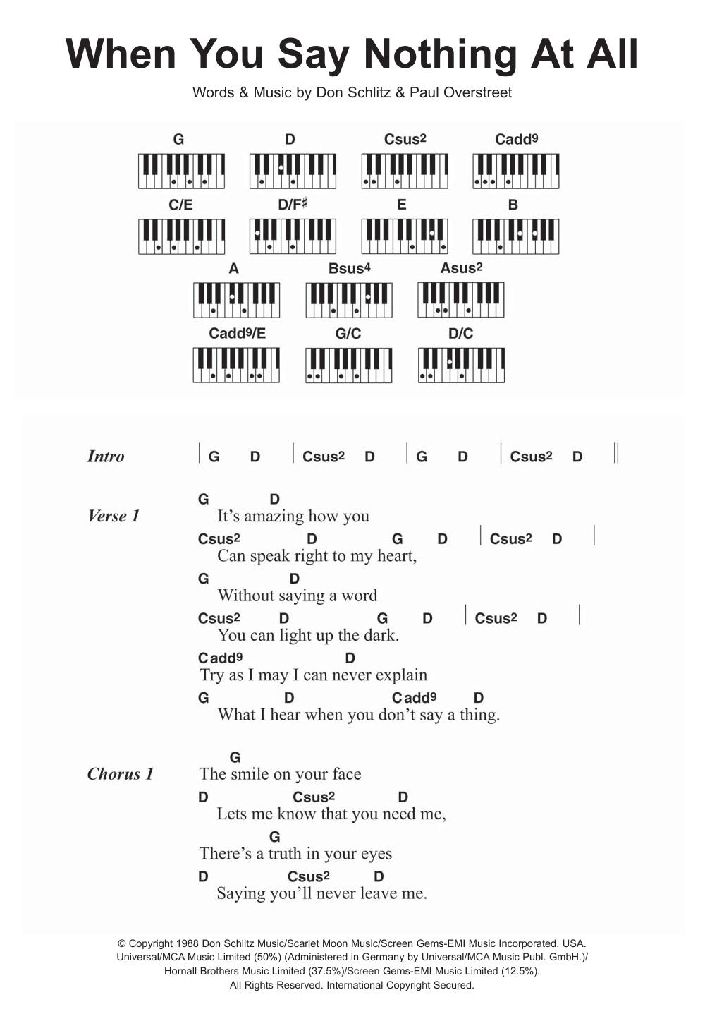 Sheet Music Digital Files To Print Licensed Ronan Keating Digital