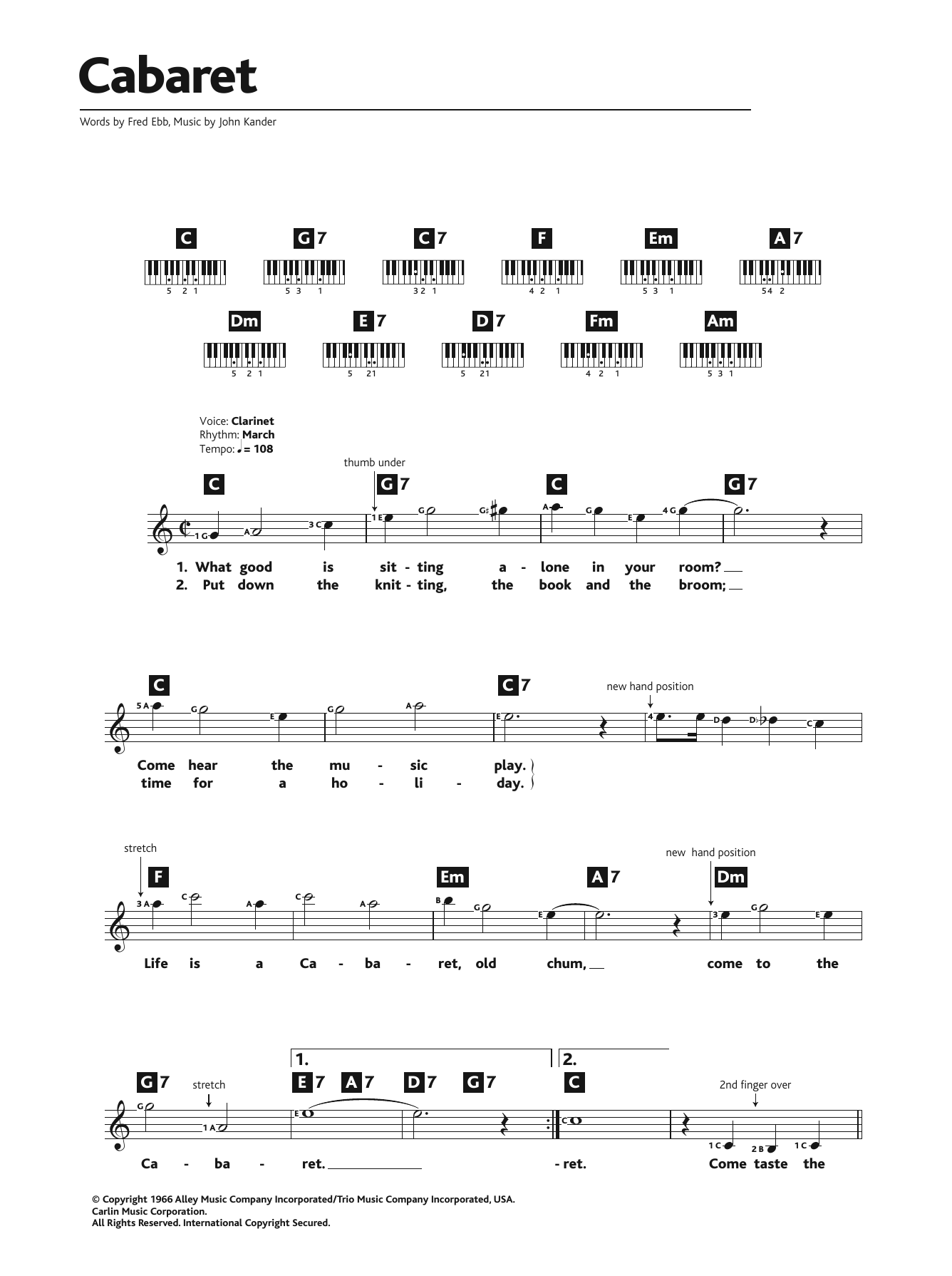 Musical/Show