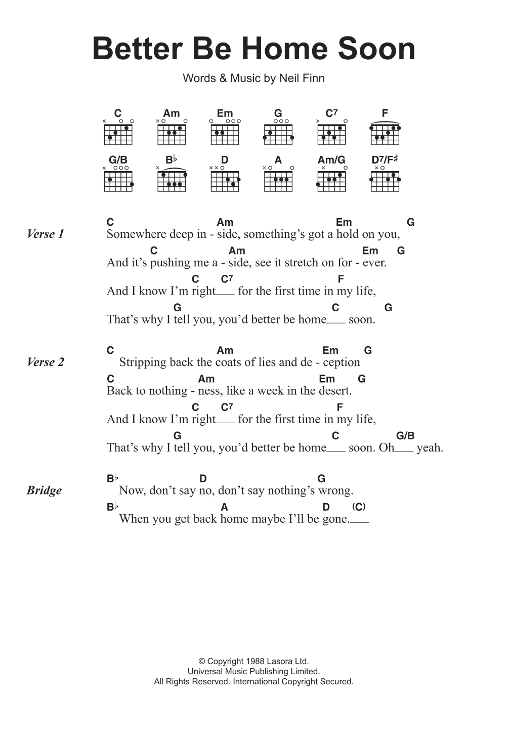 Sheet music digital files to print licensed crowded house sheet music digital files to print licensed crowded house digital sheet music hexwebz Images