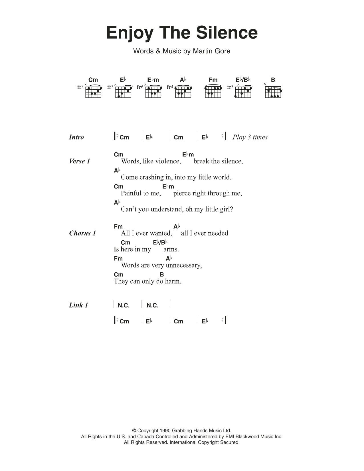 Sheet Music Digital Files To Print Licensed Depeche Mode Digital