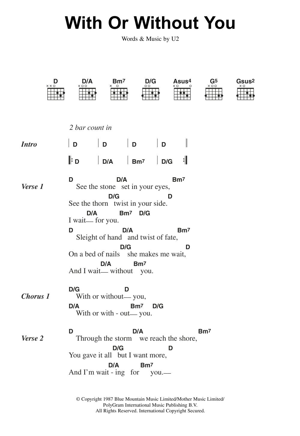 Sheet Music Digital Files To Print Licensed Guitar Chords Lyrics