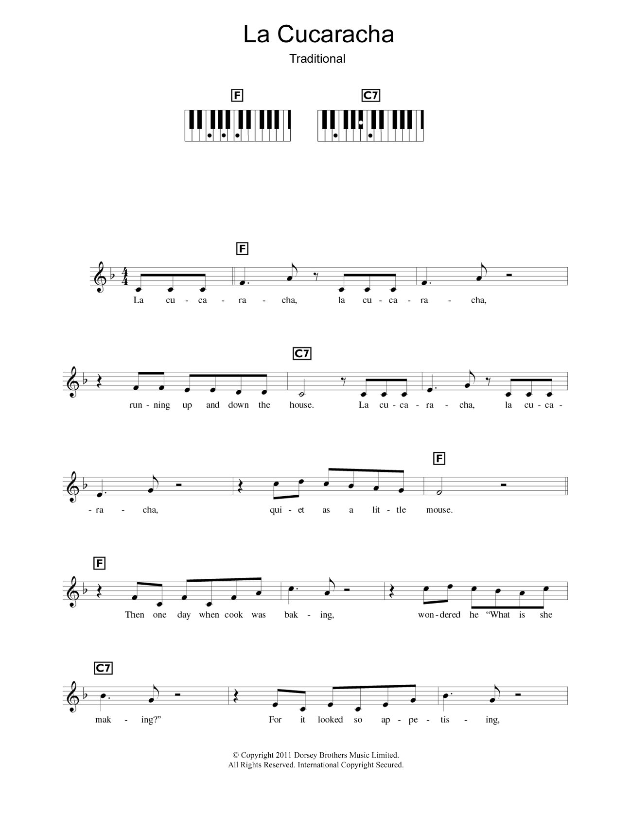 Piano Chord World Music At Stantons Sheet Music