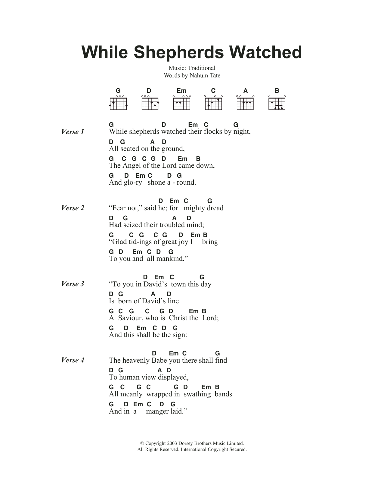 whisky in the jar chords