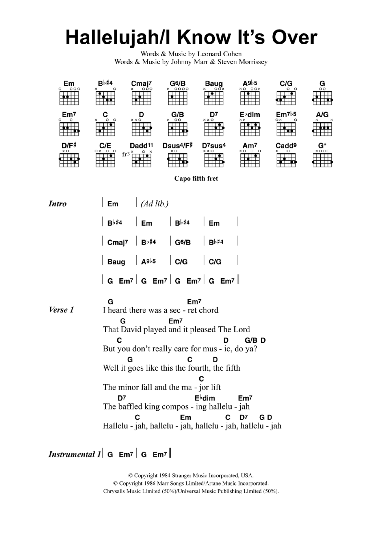 Related post of mandolin chords hallelujah