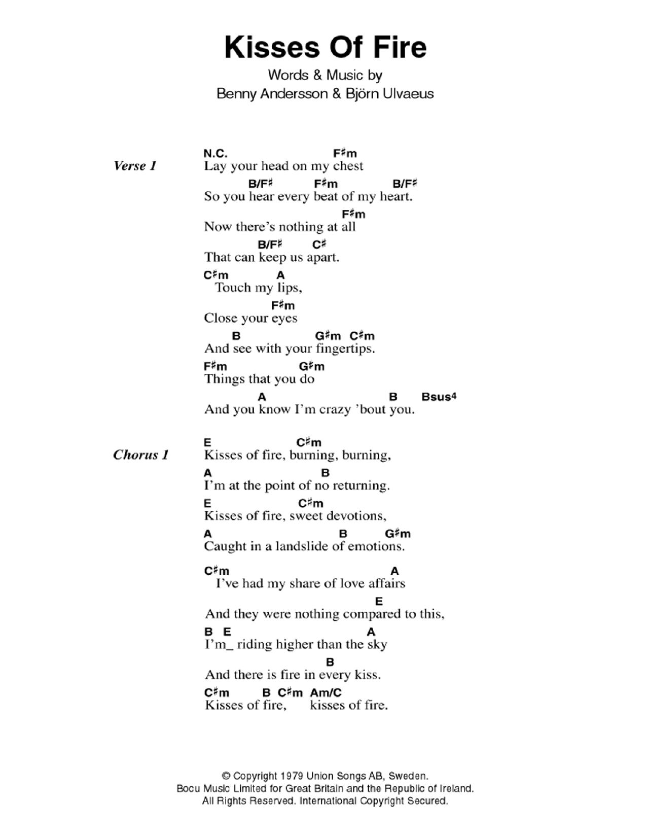 Sheet Music Digital Files To Print Licensed Abba Digital Sheet Music