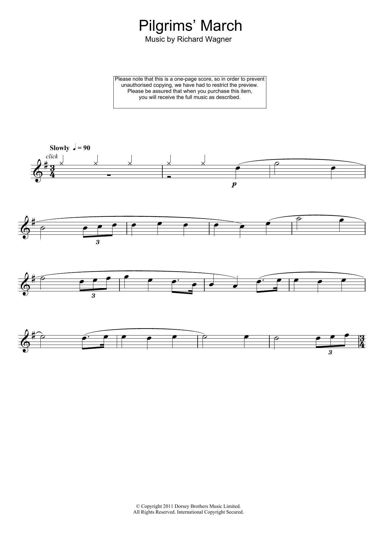 Richard Wagner - Pilgrims' March