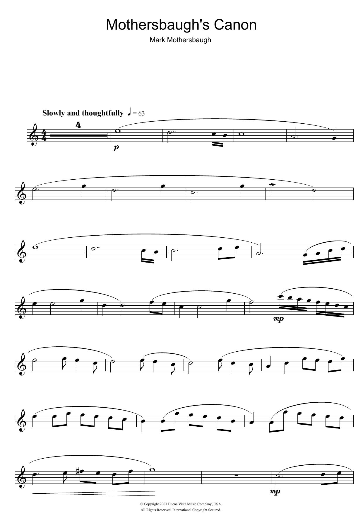 Mark Mothersbaugh - Mothersbaugh's Canon (from The Royal Tenenbaums)
